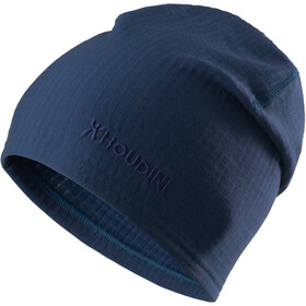 Houdini Wooler Top Mütze blue illusion
